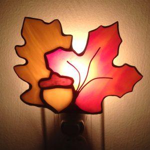 Veilleuse automne